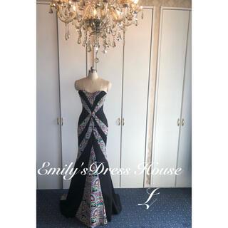 エンジェルアール(AngelR)のCamille高級刺繍ロングドレス(ロングドレス)