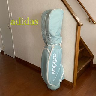 adidas - お洒落シンプルレディースキャディバッグadidas