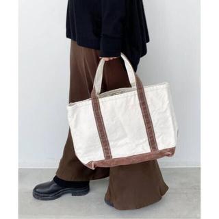 アパルトモンドゥーズィエムクラス(L'Appartement DEUXIEME CLASSE)の新品アパルトモン L.L.BEAN Canvas tote bag Mブラウン(トートバッグ)
