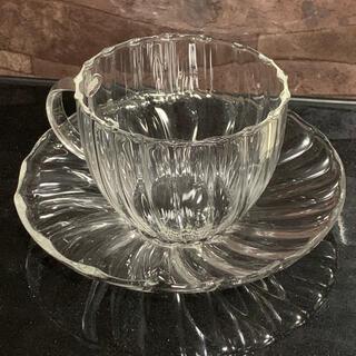♬︎期間限定値引き値下♬︎ティーカップ  ガラス製 インテリア お洒落(食器)