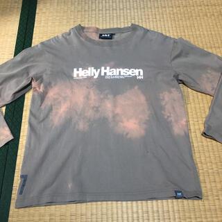 ヘリーハンセン(HELLY HANSEN)のHELLYHANSEN 後染ロンT☆即購入可☆(Tシャツ/カットソー(七分/長袖))