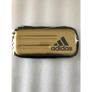 アディダス(adidas)の新品◆未使用「三菱鉛筆ペンケースadidas PT-1502 AI05 金黒」(ペンケース/筆箱)