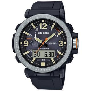 カシオ(CASIO)のカシオ プロトレック トリプルセンサー搭載 ソーラーモデル 腕時計 ブラック(腕時計(アナログ))