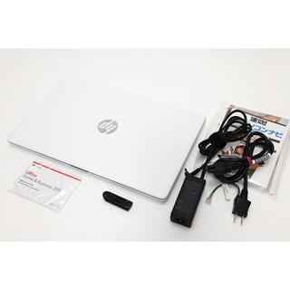 【未使用に近い/高速SSD】HP 15-db0178AU【正規office付】
