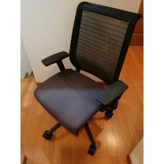 スチールケース steelcase シンクチェア think chair 稼働肘(ハイバックチェア)