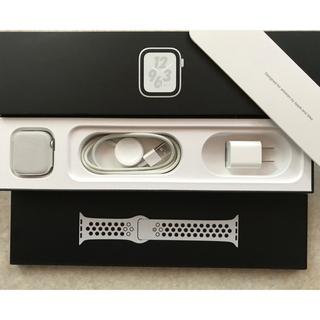 Apple - Apple Watch Nike+ series 4  40mm
