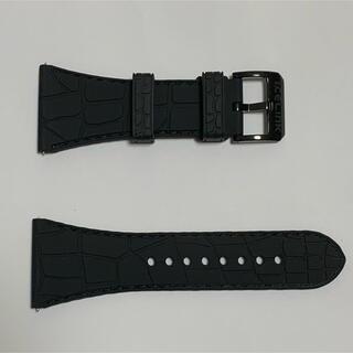 アヴァランチ(AVALANCHE)のAVALANCHE  ICE LINK ラバーベルト(腕時計(アナログ))