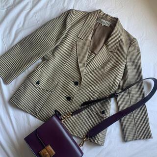 クリスチャンディオール(Christian Dior)のバーバリー チェック ジャケット(テーラードジャケット)