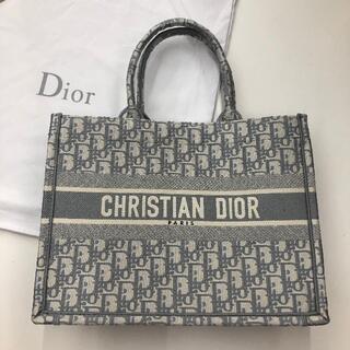 クリスチャンディオール(Christian Dior)のディオール ブックトート スモール グレー(トートバッグ)