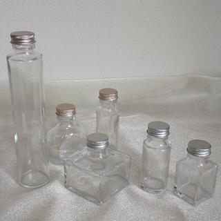 ハーバリウム用ボトル いろいろセット 6本(その他)