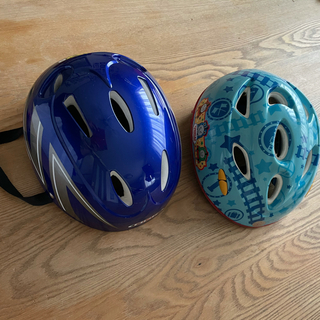 オージーケー(OGK)の自転車用子供ヘルメット2個セット(自転車)