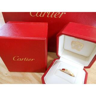 Cartier - カルティエ K18PG 6.0g ラニエールリング 11号 箱付・送料込