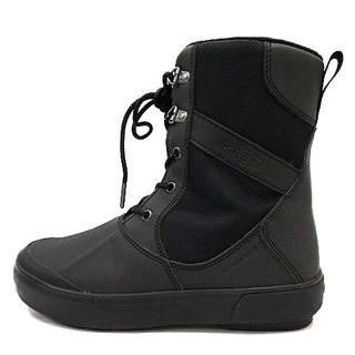 キーン(KEEN)のKEEN BELLETERRE スノーブーツ US6.5 23.5cm 黒(ブーツ)