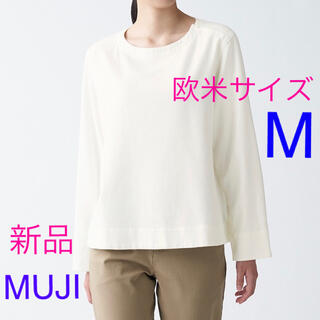 ムジルシリョウヒン(MUJI (無印良品))の新品 無印良品 フランネルブラウス レディース 欧米サイズ M  オフ白(シャツ/ブラウス(長袖/七分))