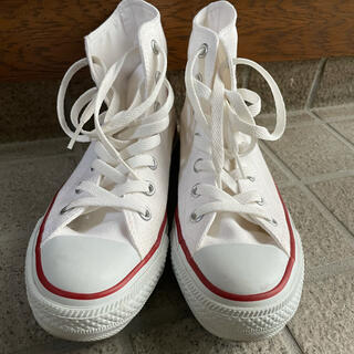 コンバース(CONVERSE)のCONVERSE CANVAS ALL STAR HI(スニーカー)
