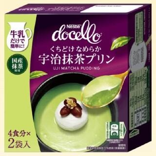 ネスレ(Nestle)のドチェロ 宇治抹茶プリン(菓子/デザート)