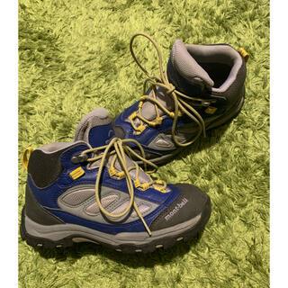 モンベル(mont bell)のmont-bell 登山靴 キッズ 21cm(登山用品)