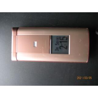 京セラ - KYF32 ピンク auかんたんケータイ ガラケー携帯電話