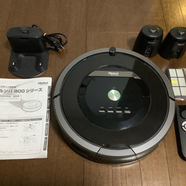 iRobot(アイロボット)のiRobot Roomba ルンバ880 スマホ/家電/カメラの生活家電(掃除機)の商品写真