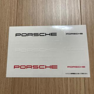 Porsche - ポルシェ ステッカー ノベルティー