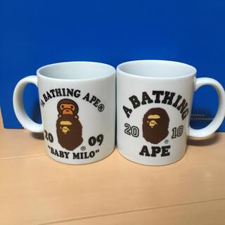 アベイシングエイプ(A BATHING APE)のA BATHING APE マグカップ(グラス/カップ)