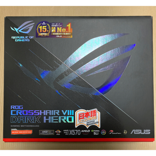 ASUS - 【新品】ASUS ROG CROSSHAIR VIII DARK HERO