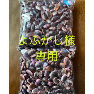 花豆2キロ(野菜)