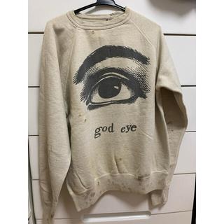 レディメイド(LADY MADE)のsaint Michael god eye sweat shirt M(スウェット)