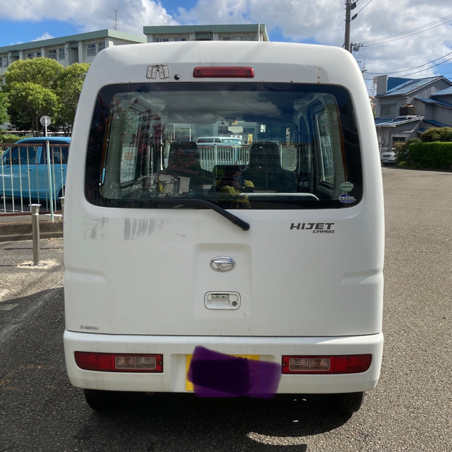 ダイハツ(ダイハツ)のMT 車検R4/3 H18 S320V ハイゼットカーゴ 8万km 神奈川 自動車/バイクの自動車(車体)の商品写真