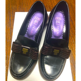 アナスイ(ANNA SUI)の【期間限定値下】ANNA SUI HARUTA コラボ ローファー 23.5cm(ローファー/革靴)
