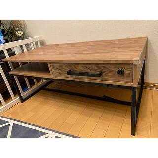 ローテーブル カフェテーブル アイアンウッド(ローテーブル)