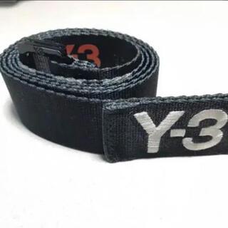 Y-3 - 特別価格!! ベルト y-3 ロゴベルト ブラック