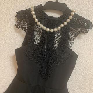 Andy - 美品☆レースペプラムドレス