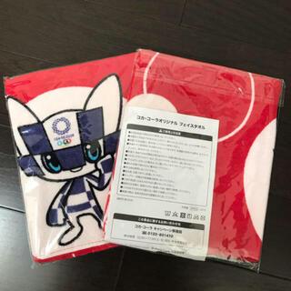 ♡コカコーラ 東京オリンピック 2020 フェイスタオル2枚♡