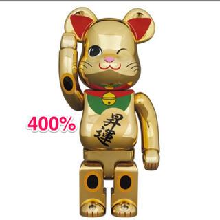 MEDICOM TOY - BE@RBRICK 招き猫 昇運 弐 金メッキ 400%