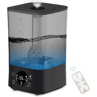 新品 「2021年最新版」加湿器 三段階霧量 大容量 4000ML ブラック