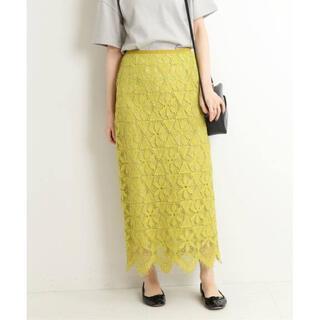 IENA - 未使用【IENA/イエナ】20SS レースタイトスカート