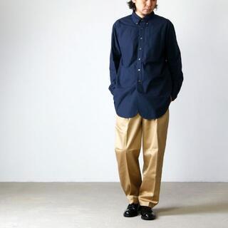 Engineered Garments - 19SS エンジニアードガーメンツ 19TH BD SHIRT L 紺