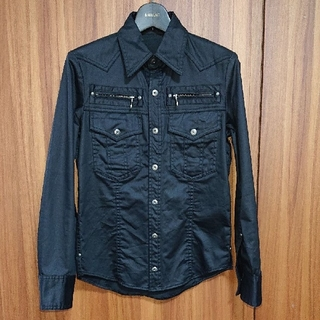 5351 POUR LES HOMMES - 未使用品 5351プールオム シャツジャケット シェラックnoidバックラッシュ