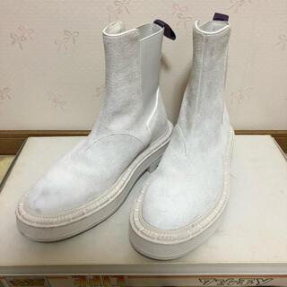 Balenciaga - エイティース ブーツ ホワイト 白