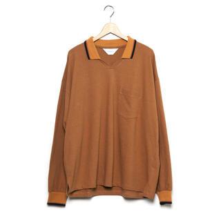COMOLI - 新品未使用 wonderland 20aw knit polo shirts