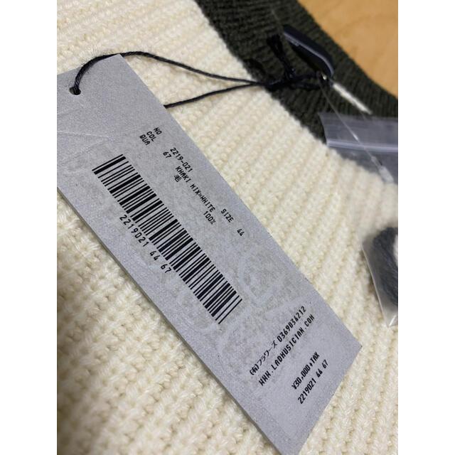 LAD MUSICIAN(ラッドミュージシャン)の新品未使用 LAD MUSICIAN KNIT BIG PULLOVER メンズのトップス(ニット/セーター)の商品写真