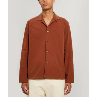 SUNSEA - 新品未使用 studio nicholson CAMP COLLAR SHIRT