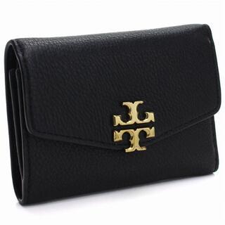 トリーバーチ(Tory Burch)のプレゼントに最適 TORY BURCH 三つ折り財布 ブラック(財布)