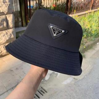 PRADA - プラダ ♡ バケットハット 帽子 ブラック