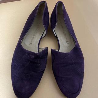 ヨーガンレール(Jurgen Lehl)のヨーガンレール 紫 パンプス 23.5センチ(ハイヒール/パンプス)
