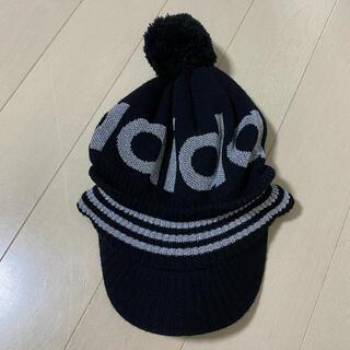 アディダス(adidas)のadidas 帽子 ニット帽 キャップ(ニット帽/ビーニー)