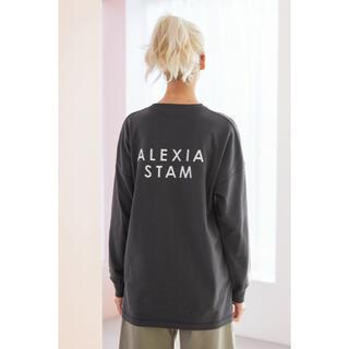 ALEXIA STAM - ALEXIA STAM ロンT チャコール