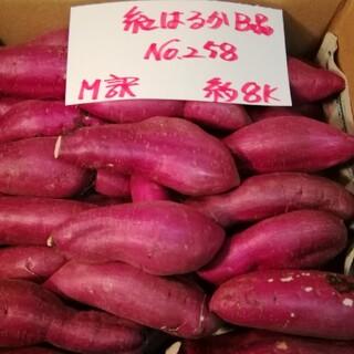 超お得!! 訳あり☆限定品☆ねっとり甘い貯蔵品紅はるかB品約8Kです。(野菜)