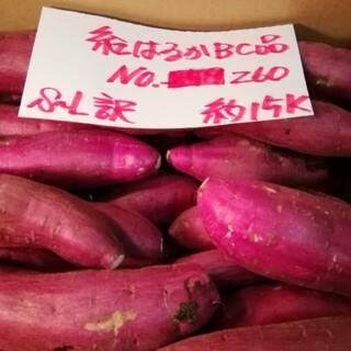 超お得!! 訳あり☆限定品☆ねっとり甘い貯蔵品紅はるかBC品約15Kです。(野菜)